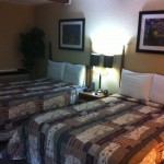 This is what a room with two queen beds may look like at the Rustic Motel.